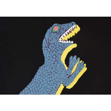Paul Smith launches new 'dino' collection 'puffy print bags