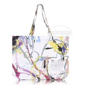 Cotton beach bag / Landscape tote bag with long handles and custom print. 48cm w x 38cm h