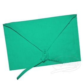 reusable green colored envelopes