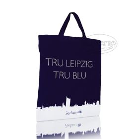 Cotton eco tote bag with short handles 38(w)x43(h)
