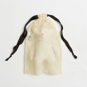 Extra Large Mesh Drawstring Bags in Wholesale Quantiy from Ethical bags supplier of UK