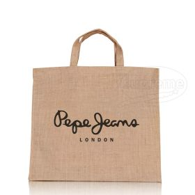 hessian jute with logo