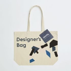 Bespoke Landscape Natural Canvas Tote Bag with Long Handles, ideal for the beach - Direct from Manufacturer