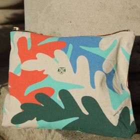 large printed makeup pouches