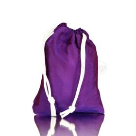 synthetic silk bags violet