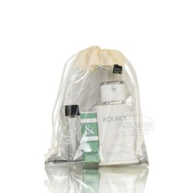 pvc drawstring bag for cosmetics