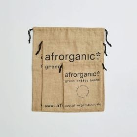 ranges of bespoke printed jute drawstring bags for packaging direct from manufacturer
