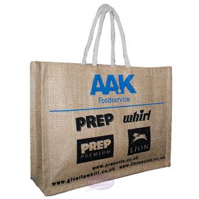 large jute bags brand promotions