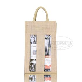 two wine bottle bags wholesale