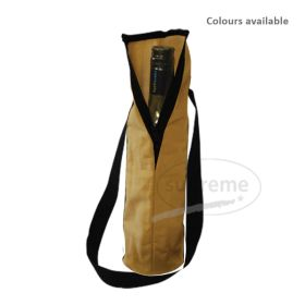 logo printed canvas bags for bottle