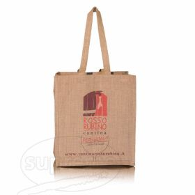 logo printed wine bottle bags