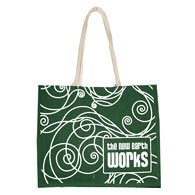 Extra large jute delegate bag