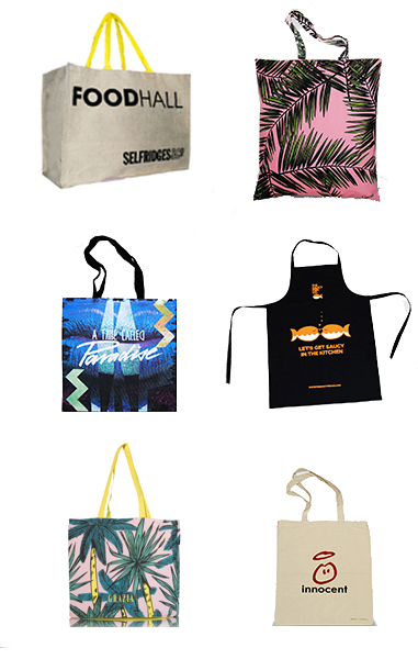 images of Supreme Creations bags, our workers in India, our awards
