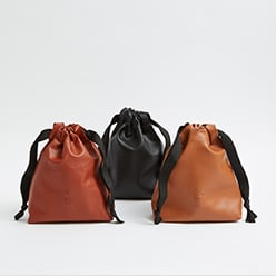 personalised-leather-drawstring-bags