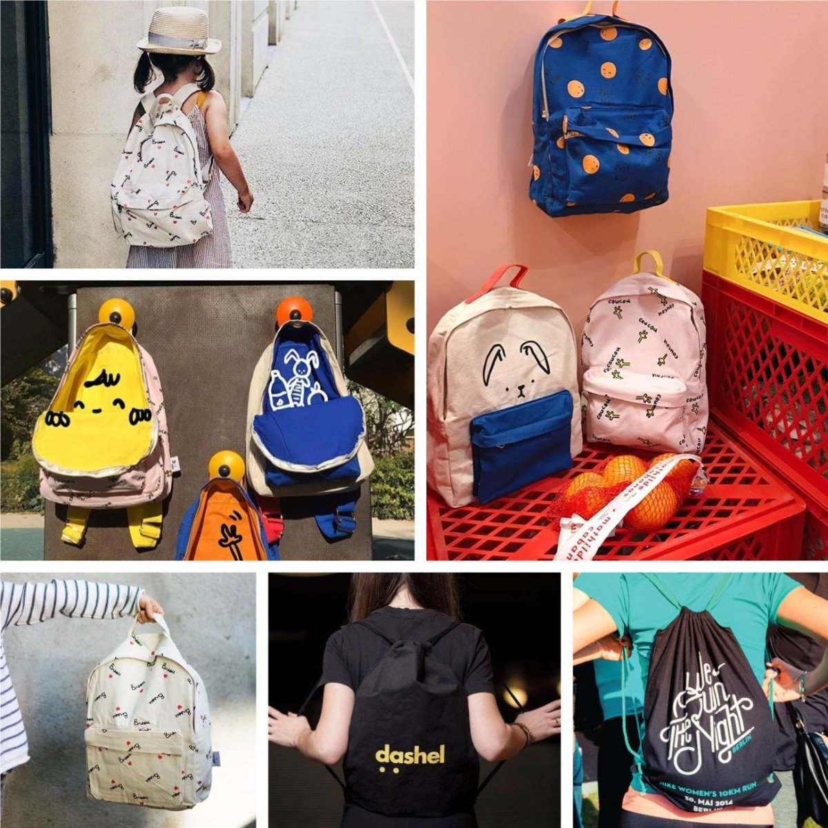 Any Shape, Any Size, Any Color backpack wholesale