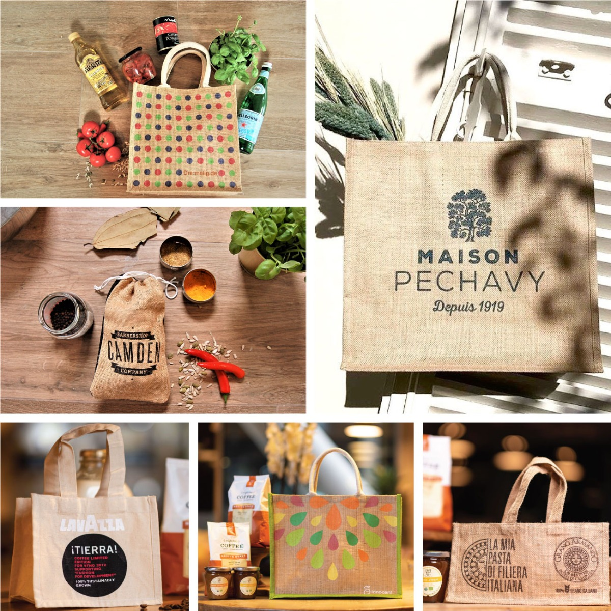 Jute bags in Any Shape, Any Size, Any Color