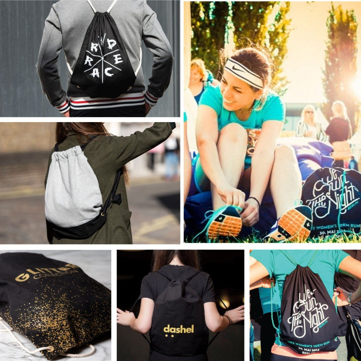 Any Shape, Any Size, Any Color sports bags