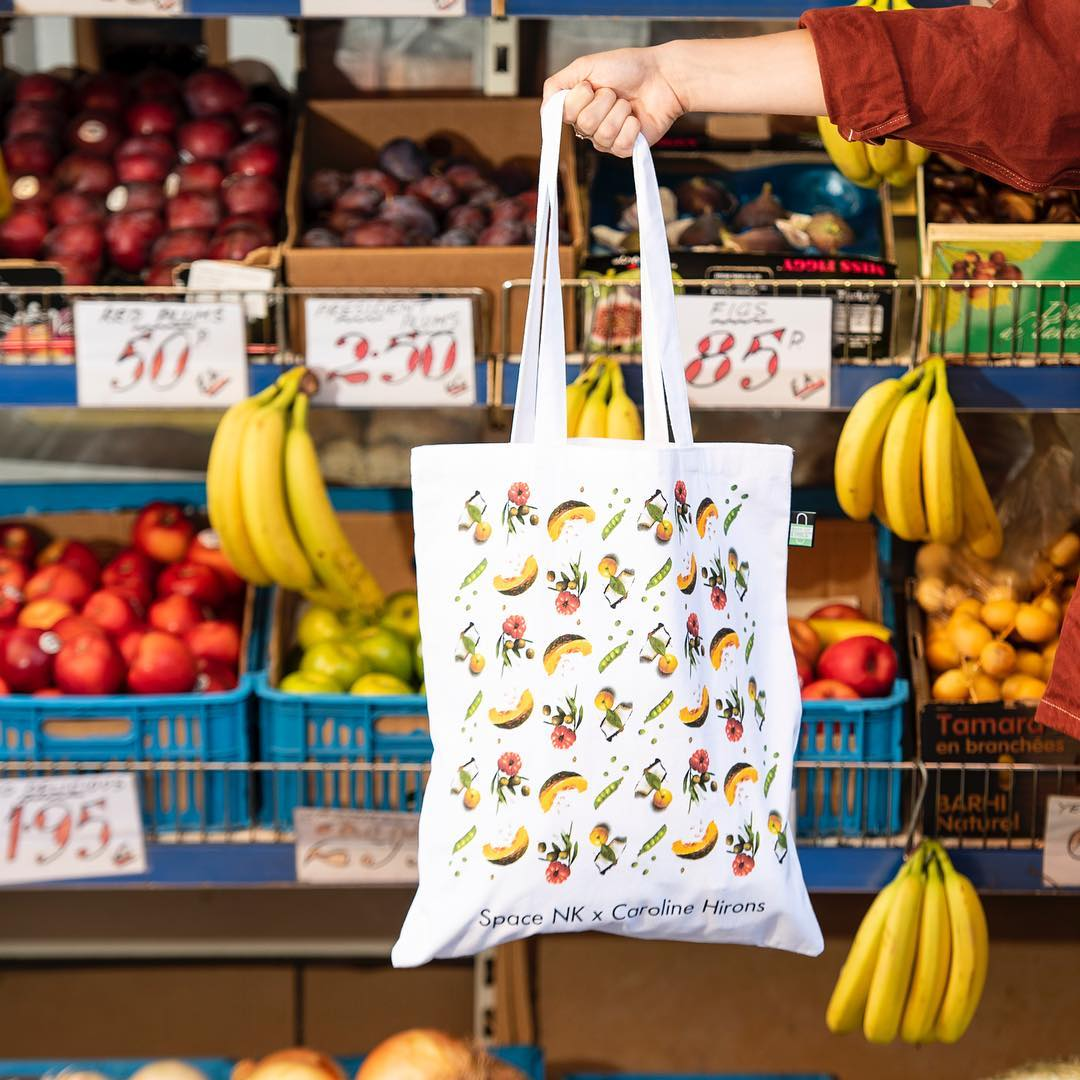 reusable canvas bags