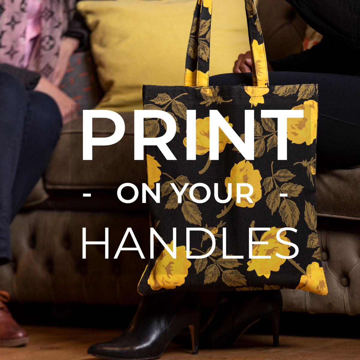 printed fabric bags wholesale