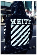 Off white design for tote bags