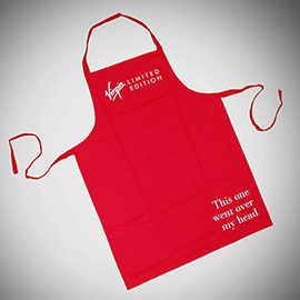 supreme creations red apron standard