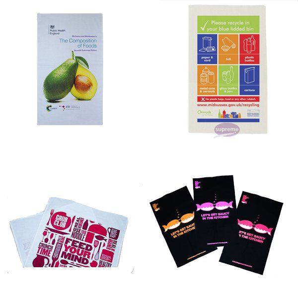 Wholesale tea towels uk
